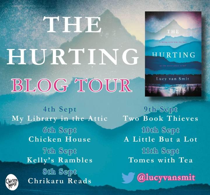 Hurting blog tour banner