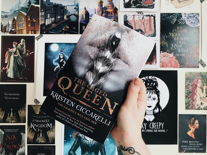 Blog Tour // The Caged Queen by KristenCiccarelli