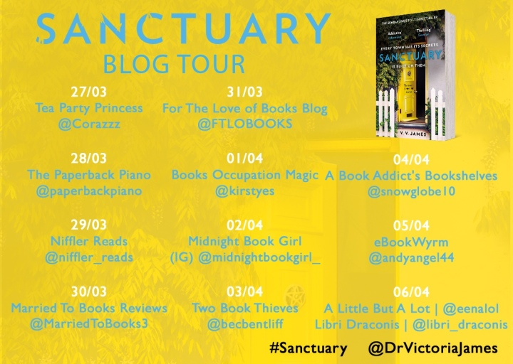 Blog Tour // Sanctuary by V. V.James