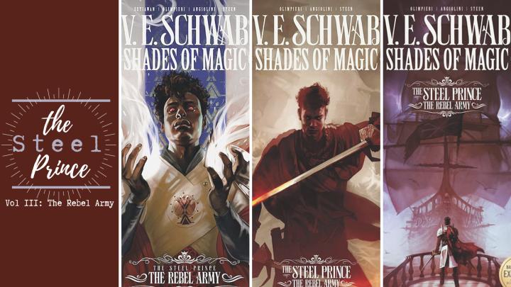 Shades of Magic: The Rebel Army by V. E.Schwab